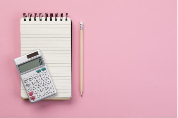 Calculator and pad